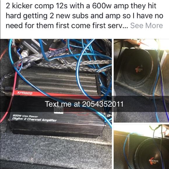 2 12in kicker comps